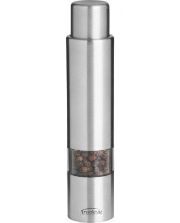 Moulin à poivre une main 15 cm en acier inoxydable Garantie à Vie | Jobox Media