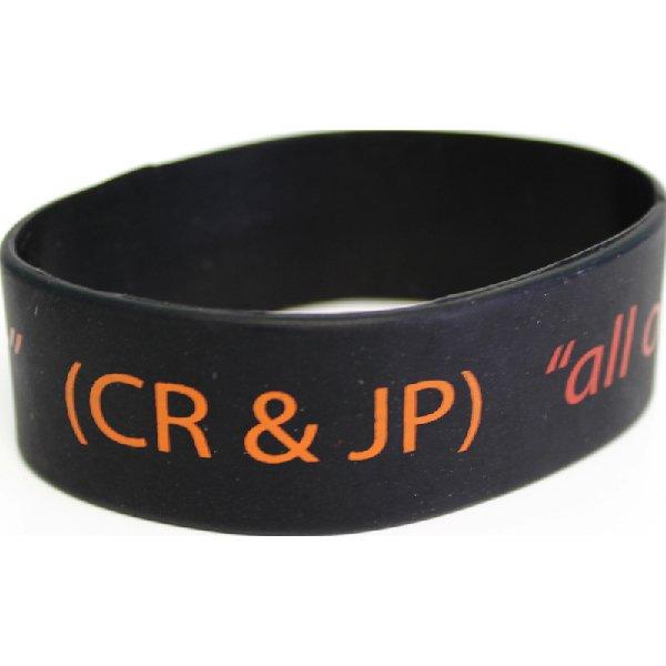 Bracelet en Silicone Large Embossé | Jobox Media
