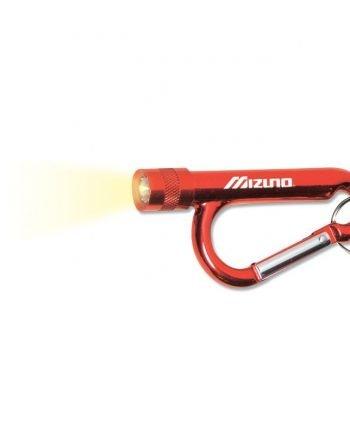 Mousqueton en forme d'ampoule avec lampe | Jobox Media