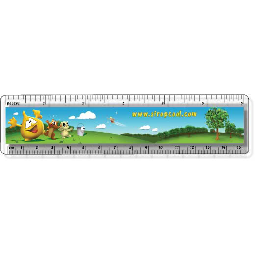 Clear Rulers – Full Color | Jobox Media
