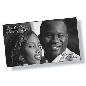 Carte Date à Retenir Aimants Mémos Vinyle Blanc .020 | Jobox Media