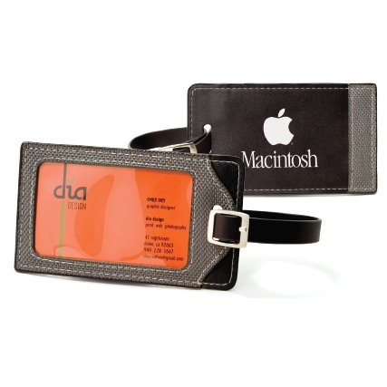 Leatherette Luggage Tag | Jobox Media