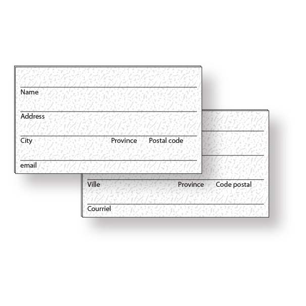 Address Cards | Jobox Media
