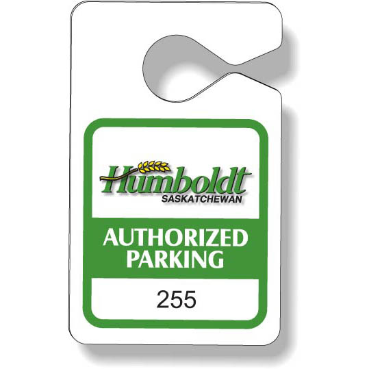 Plastic Parking Tags | Jobox Media